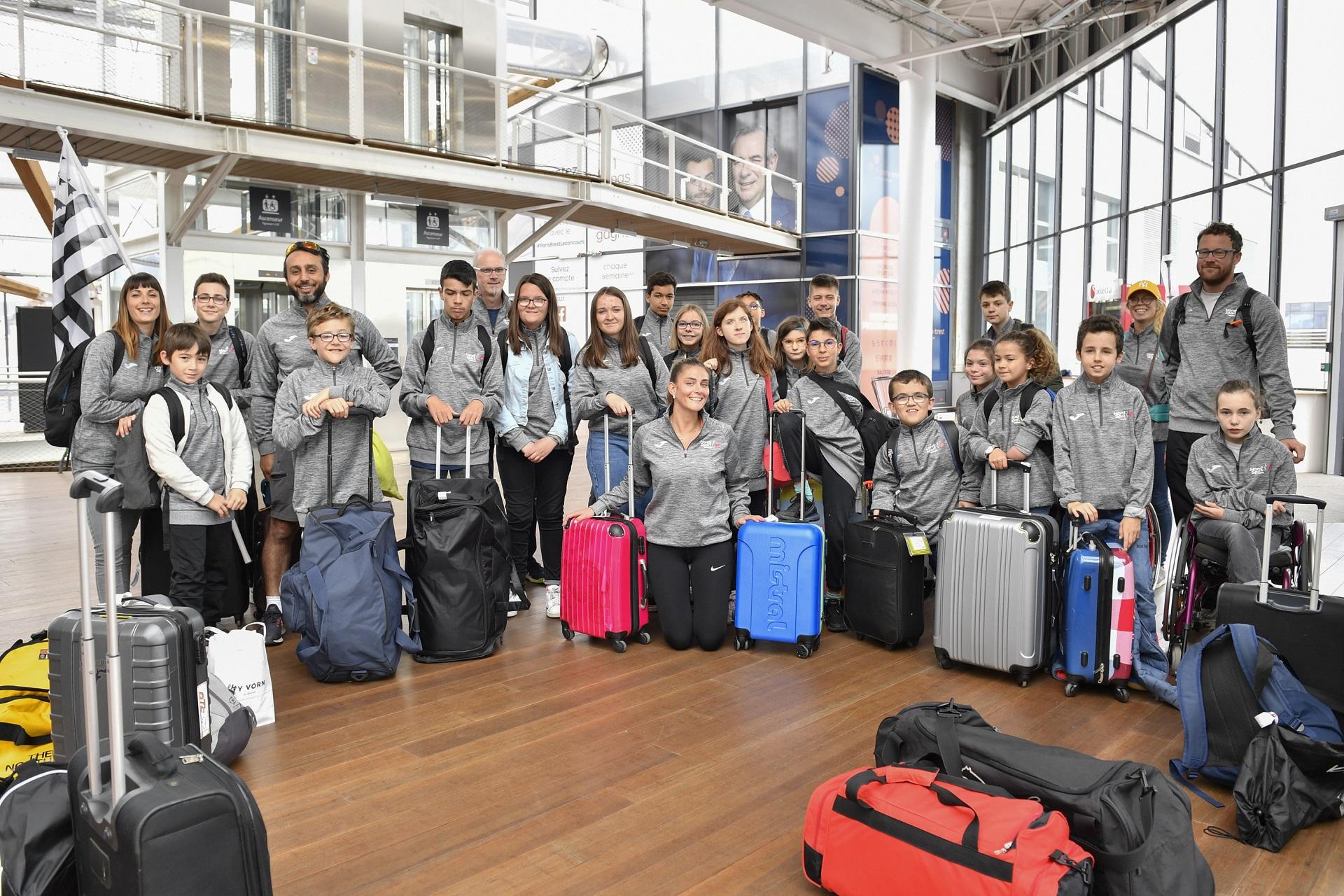 Photo de groupe lors du JAP National à Bourges