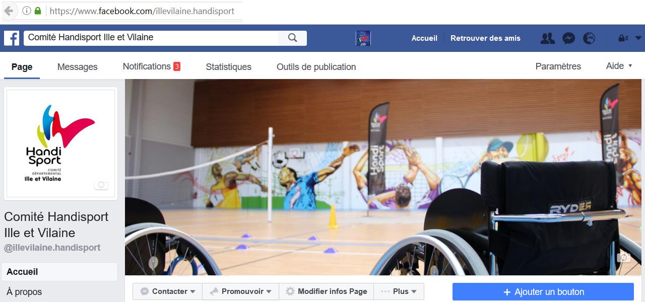 Page Facebook du CDH 35