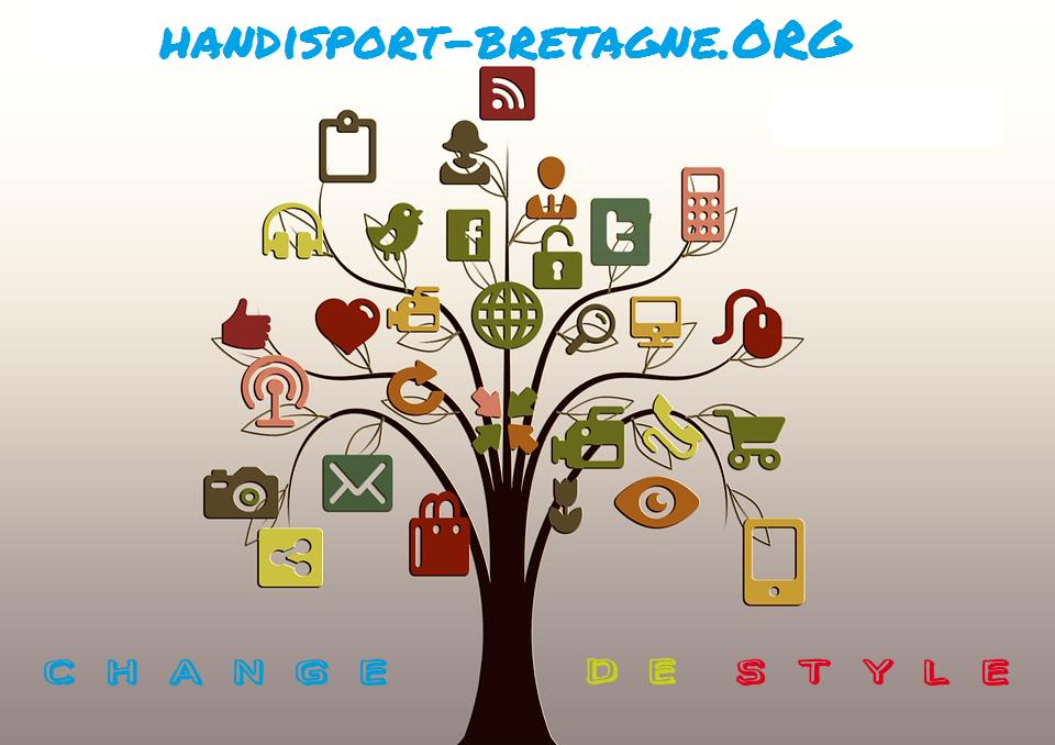 Le site web Handisport Bretagne change de style